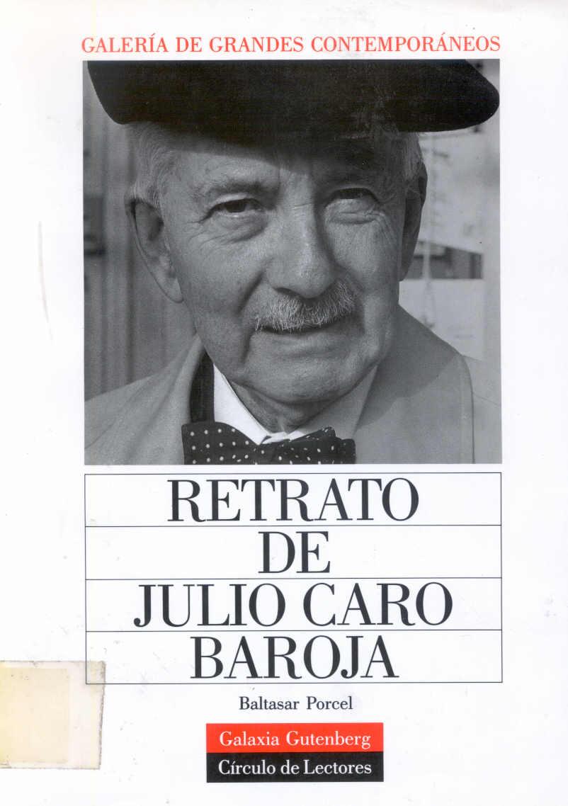julio caro baroja: